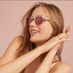 Anthropologie Rockaway Wayfarer Sunglasses